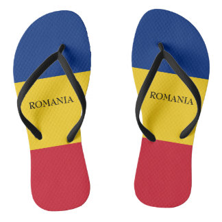 Flag of Romania Thongs