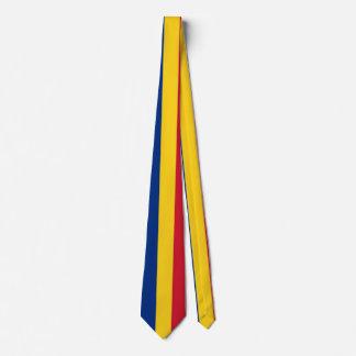 Flag of Romania Tie