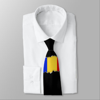 Flag of Romania Tie
