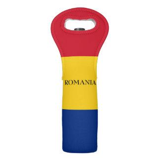 Flag of Romania Wine Bag
