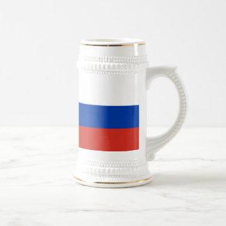 Flag of Russia - Флаг России - Триколор Trikolor Beer Stein
