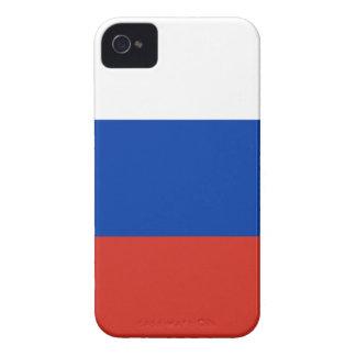 Flag of Russia - Флаг России - Триколор Trikolor iPhone 4 Case-Mate Case