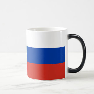 Flag of Russia - Флаг России - Триколор Trikolor Magic Mug