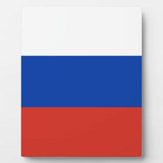 Flag of Russia - Флаг России - Триколор Trikolor Plaque