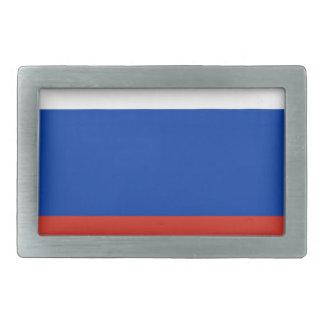 Flag of Russia - Флаг России - Триколор Trikolor Rectangular Belt Buckle