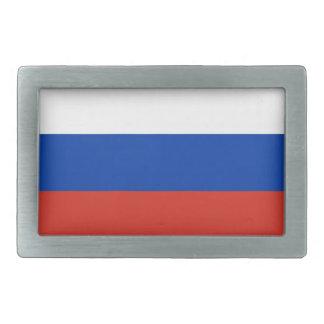 Flag of Russia - Флаг России - Триколор Trikolor Rectangular Belt Buckles