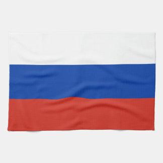 Flag of Russia - Флаг России - Триколор Trikolor Tea Towel