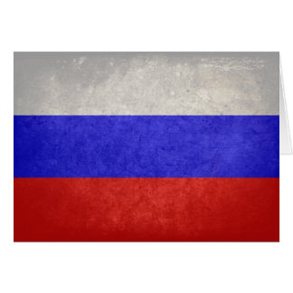 Flag of Russia Greeting Cards