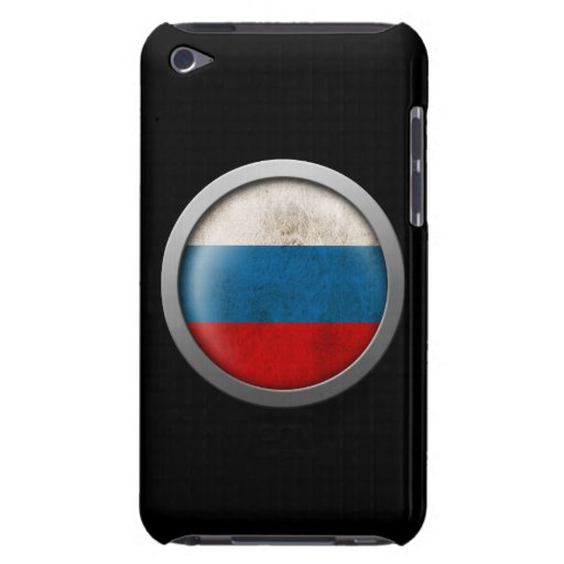 Flag of Russia Disc iPod Touch Cover