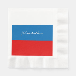 Flag of Russia Disposable Serviettes