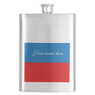 Flag of Russia Hip Flask