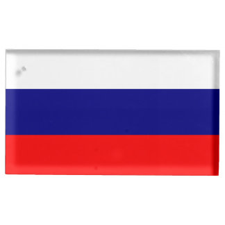 Flag of Russia Place Card Holder
