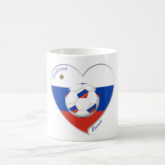Flag of RUSSIA SOCCER of the world in 2014 Coffee Mug