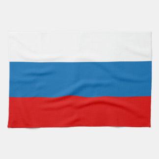 Flag of Russia Tea Towel