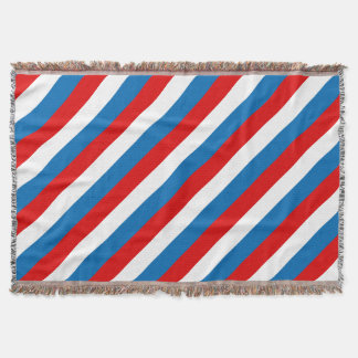 Flag of Russia Throw Blanket
