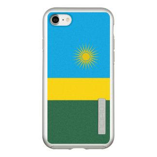 Flag of Rwanda Silver iPhone Case