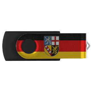 Flag of Saarland USB Flash Drive