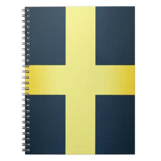 Flag of Saint David Of Wales Notebooks