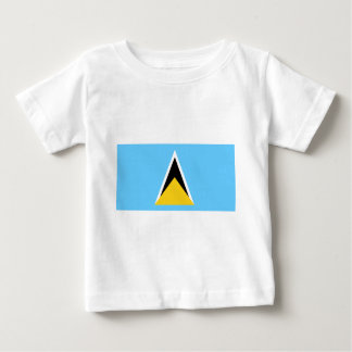 Flag_of_Saint_Lucia Baby T-Shirt