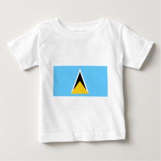 Flag of Saint Lucia Baby T-Shirt