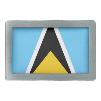 Flag of Saint Lucia Belt Buckle