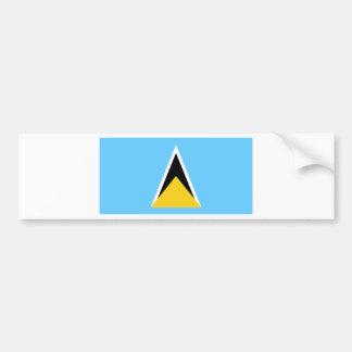 Flag of Saint Lucia Bumper Sticker