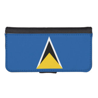 Flag of Saint Lucia iPhone SE/5/5s Wallet Case