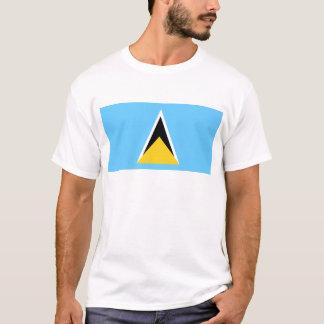 Flag of Saint Lucia T-Shirt