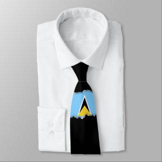Flag of Saint Lucia Tie