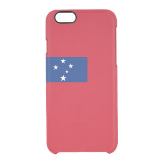 Flag of Samoa Clear iPhone Case
