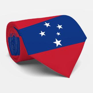 Flag of Samoa Island Tie