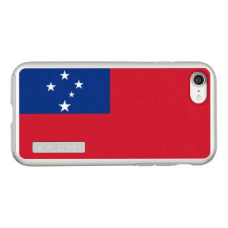 Flag of Samoa Silver iPhone Case