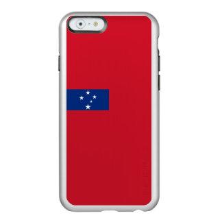 Flag of Samoa Silver iPhone Case Incipio Feather® Shine iPhone 6 Case