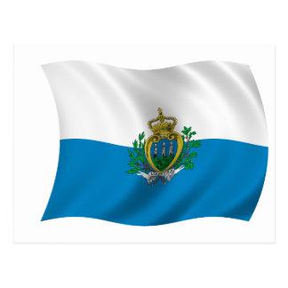 Flag of San Marino Postcard