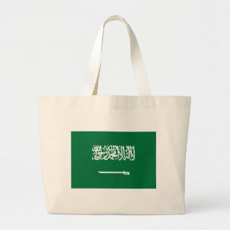 Flag_of_Saudi_Arabia Large Tote Bag