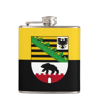 Flag of Saxony-Anhalt Hip Flask