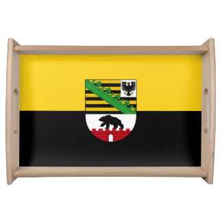 Flag of Saxony-Anhalt Serving Tray