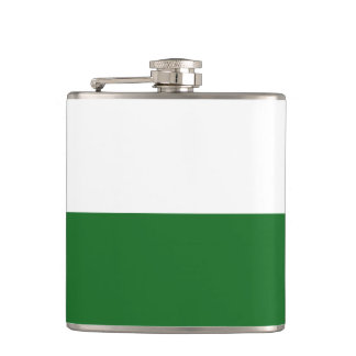 Flag of Saxony Hip Flask