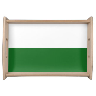 Flag of Saxony Serving Tray