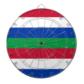 Flag of Schiermonnikoog Dartboard