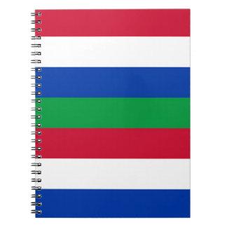 Flag of Schiermonnikoog Notebooks