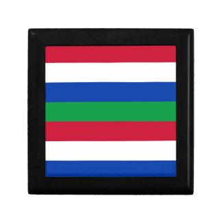 Flag of Schiermonnikoog Small Square Gift Box