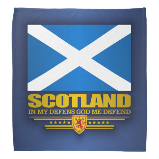 Flag of Scotland 2 Bandana