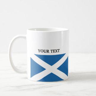 Flag of Scotland Basic White Mug