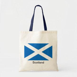 Flag of Scotland Budget Tote Bag
