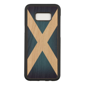 Flag of Scotland Carved Samsung Galaxy S8+ Case