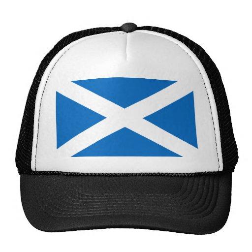 Flag of Scotland Mesh Hats