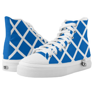 Flag of Scotland or Saltire High Tops
