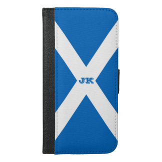 Flag of Scotland or Saltire iPhone 6/6s Plus Wallet Case