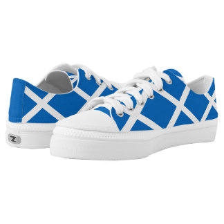 Flag of Scotland or Saltire Low Tops
